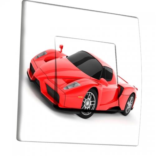 interrupteur d cor voiture rouge. Black Bedroom Furniture Sets. Home Design Ideas