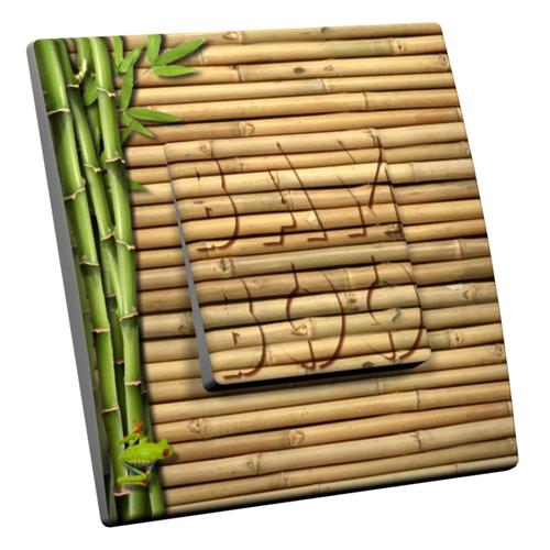interrupteur d cor bamboo. Black Bedroom Furniture Sets. Home Design Ideas