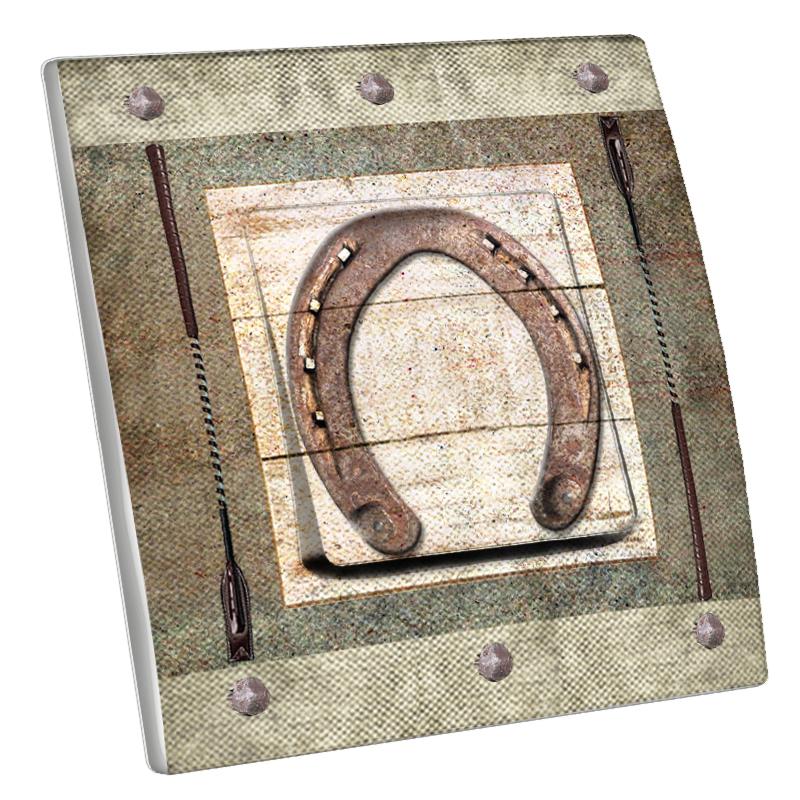 Interrupteur d cor fer cheval for Interrupteur decore