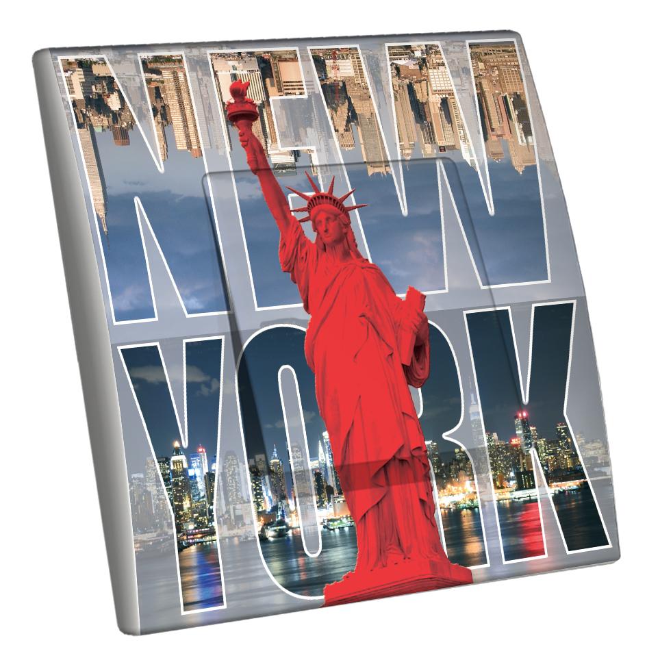 Interrupteur d cor new york for Interrupteur decore