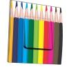 Interrupteur décoré Crayons de couleur