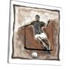 Interrupteur décoré Footballeur