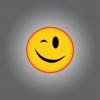 INTERRUPEUR DECORE SMILEY CLIN D'OEIL