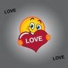 INTERRUPEUR DECORE SMILEY LOVE