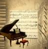 """INTERRUPTEUR DÉCORÉ """"PIANO"""""""