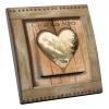 Interrupteur décoré Coeur et dentelle