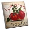 Interrupteur décoré Tomate basilic
