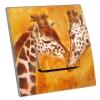 Interrupteur décoré Girafe
