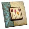 Interrupteur décoré Tulipes