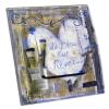 Interrupteur décoré Du bleu pour Rêver J.WOLFF