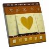 Interrupteur décoré Coeur de Papier L.FAYS