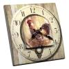 Interrupteur décoré Horloge