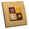 Interrupteur décoré Chocolat L.FAYS