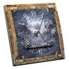 Interrupteur décoré Horloge Ardoise