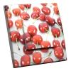Interrupteur décoré Cerises Rouges
