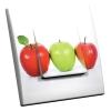 Interrupteur décoré 3 Pommes