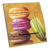 Interrupteur décoré Macarons en Toile