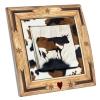 Interrupteur décoré Vache en Cadre