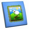 Interrupteur décoré Saute Mouton