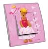 Interrupteur décoré Princesse ourse L.FAYS