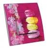 Interrupteur décoré Macarons et bandeau de fleurs