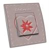 Interrupteur décoré Edelweiss