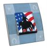 Interrupteur décoré  USA - Cowboy