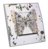 Interrupteur décoré  Atelier Déco - Papillon argenté - L.FAYS
