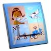 Interrupteur décoré Baby pilote L.FAYS