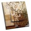 Interrupteur décoré Cerisier blanc
