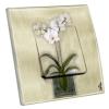 Interrupteur décoré Orchidée