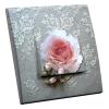 Interrupteur décoré Rose sur Dentelles