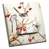 Interrupteur décoré Cerisier