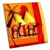 Interrupteur décoré Pyramides