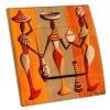 Interrupteur décoré Ethnique Orange