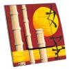 Interrupteur décoré Asie Bambou