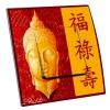 Interrupteur décoré Asie Bouddha