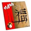Interrupteur décoré Asie Orchidée