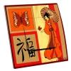 Interrupteur décoré Asie Chinoise