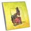 Interrupteur décoré Odilon le Grillon