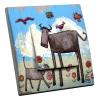 Interrupteur décoré Vache 2