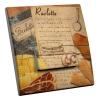 Interrupteur décoré Recette Raclette