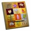 Interrupteur décoré Poudre d'Or L.FAYS