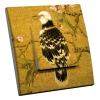Interrupteur décoré Oiseau