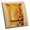 Interrupteur décoré Giraffe L.FAYS