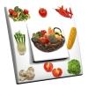 Interrupteur décoré Composition Légumes