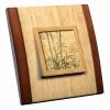 Interrupteur décoré Bambou