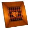 Interrupteur décoré Coeur sur Bois