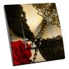 Interrupteur décoré Rose et Perles