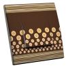 Interrupteur décoré Chocolat-Vanille